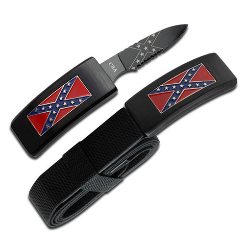 Dan Valois CSA Belt Buckle Hidden Knife