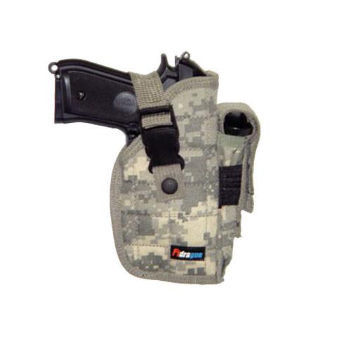 Big Pistol Belt Holster - Digital Camo