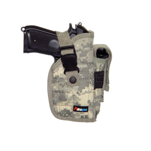Big Pistol Belt Holster - Digital Camo