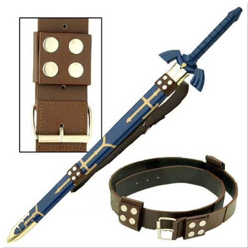 Link Hyrule Zelda Sword Leather Belt Strap EW-094