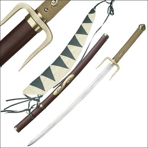 Typhoon Swell Anime Samurai Sword