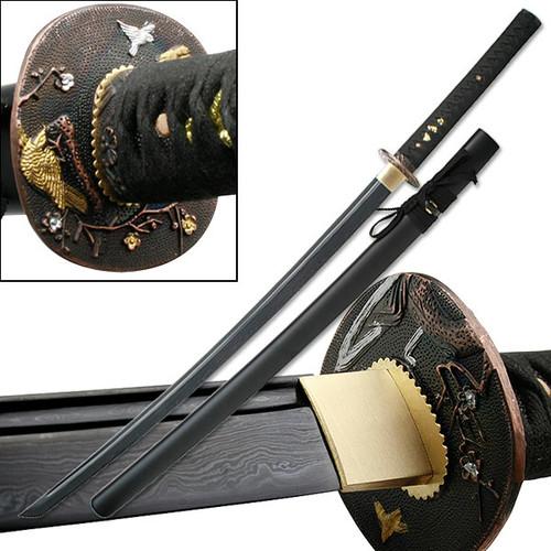 Hand Forged Samurai Katana (Damascus Blade)