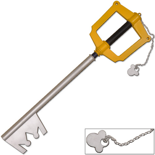 Kingdom Hearts Sora Foam Keyblade 1:1 Scale Replica PVC Core