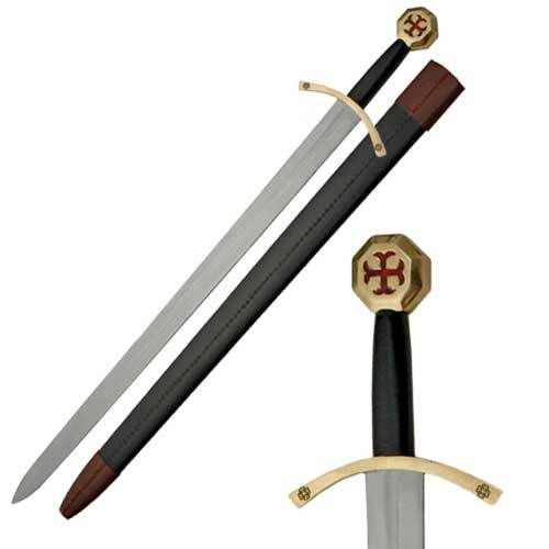 Medieval Knights of Templar Sword