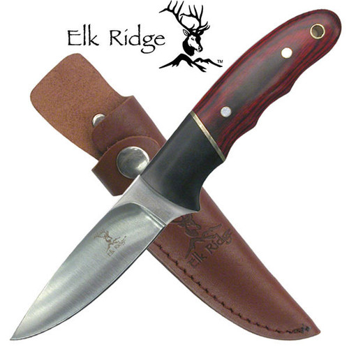 "Elk Ridge ER-029 FIXED BLADE KNIFE 7.5"" OVERALL"