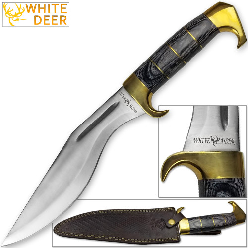 WHITE DEER MAGNUM Kukri Jungle Machete Knife