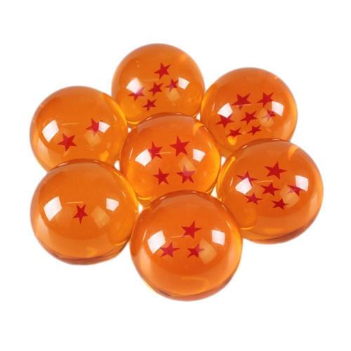 Dragonballs 7 Piece Set Z/GT/Super Stars