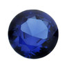 Lab-Created Blue Spinel 5mm Round Faceted Stone, S |Sold by Each | 88575 |Bulk Prc Avlb
