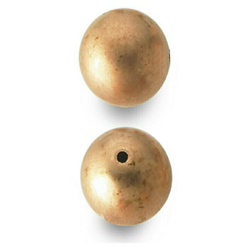 Copper 16mm Round Bead Pk of 5 | 682592