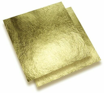 24K Gold Leaf (Super Thin Foil, 93x93 mm, Unit: sheet | NJGF93