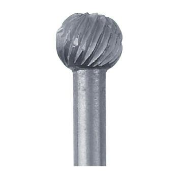 High-Speed Steel Round Bur, 4.7mm  Sold by Each  345519