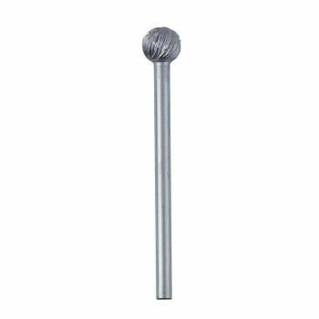 High-Speed Steel Round Bur, 5.6mm  Sold by Each  345524