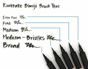 Bimoji Calligraphy Brush Pen Medium | 847340020462