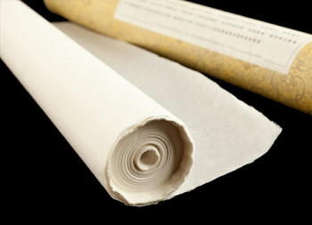 Mulberry Paper Roll | for Painting and Calligraphy 46 cm x  25m, Sold By Each | WZPZ46