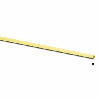 Jeweler's Brass/NuGold Square Wire, 12Ga (2mm) |By the Ft| 130428F |Bulk Prc Avlb