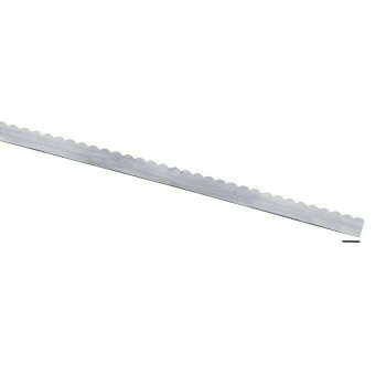 """999 Fine Silver 1/4"""" Scalloped Strip, 26-Ga., Dead Soft Sold By cm   104018"""