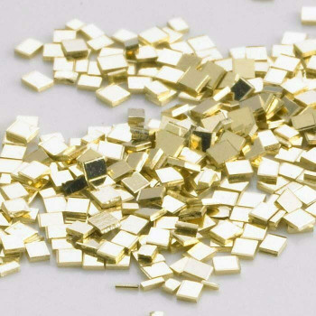 14K Plumb Yellow Gold Chip Solder, Medium | Sold by Pc |Bulk Prc Avlb| 600826