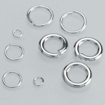 Sterling Silver 5mm Round Jump Ring | Bulk Prc Avlb | Sold by Each | 695067