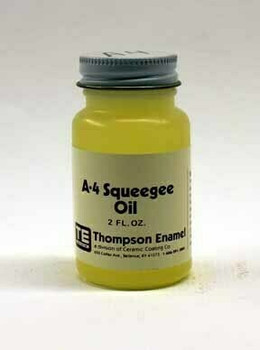 A-4 Overglaze Painting Squeegee Oil, 2 oz | TA04