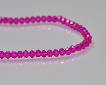 "Briolette Rose Crystal Beads 3x 4.5mm | Sold by 1 Strand(10"") 