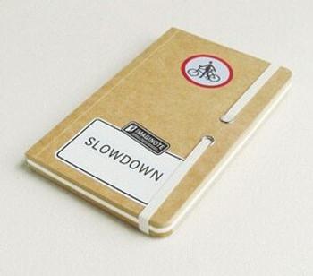 "deSign Sketch Book ""Slowdown"" 18.5x12cm 256Pg Brown | JI0004B"