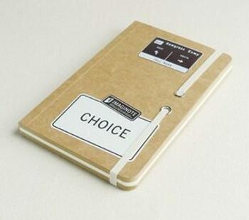 "deSign Sketch Book ""Choice"" 18.5x12cm 256Pg Brown | JI0006"