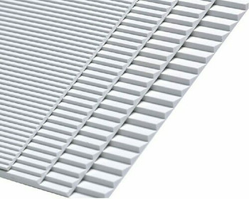 ABS Plastic Steps (Stairs) Sheet| 148x210mm |Style A| Sold by Pc | AM0104