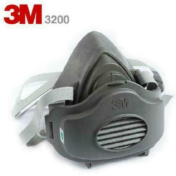 3M 3200 Half-Face Respirator(Includes Free Filters) | 051138542023