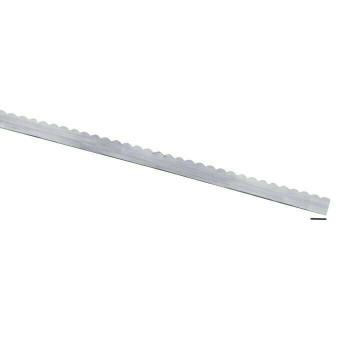 """999 Fine Silver 1/4""""Wide Scalloped Bezel 28Ga(0.32mm) Sold By cm   104014"""