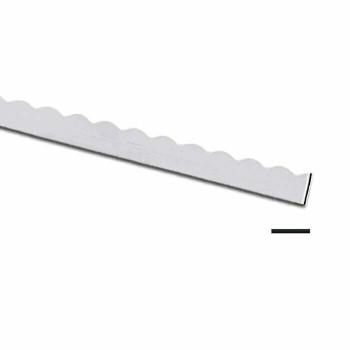 "999 Fine Silver 3/16"" Scalloped Bezel 28Ga(0.32mm) 1cm   111057283"