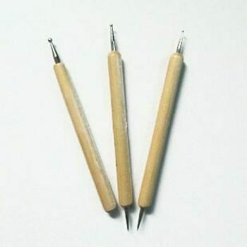 Ceramic Press Mark Pen Set of 3 | Bo0010