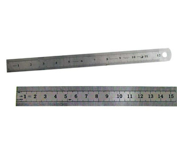 Stainless Steel Ruler 30cm/12"