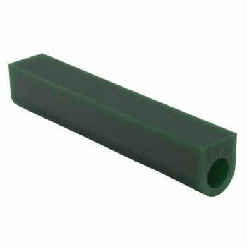 Green Wax Ring Tube, Flat-Top, Center Hole | ZBWM1