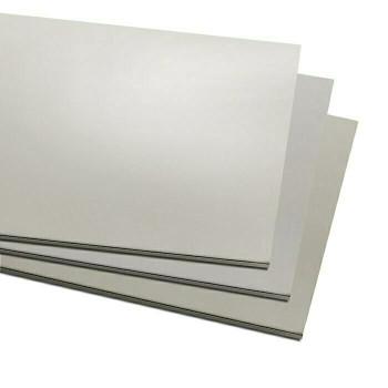 "6"" x 12"" Nickel Silver Alloy Sheet, 18Ga(1mm) | 131118"