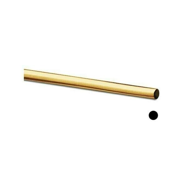 Jeweler's Brass Round Wire, 4-Oz. Spool, 22-Ga., Dead Soft | 130504 | Bulk Prc Avlb
