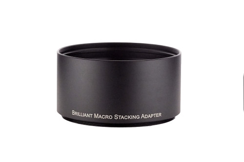 Brilliant Macro Stacking Adapter.  This adapter allows stacking of multiple Brilliant Macro attachment lenses