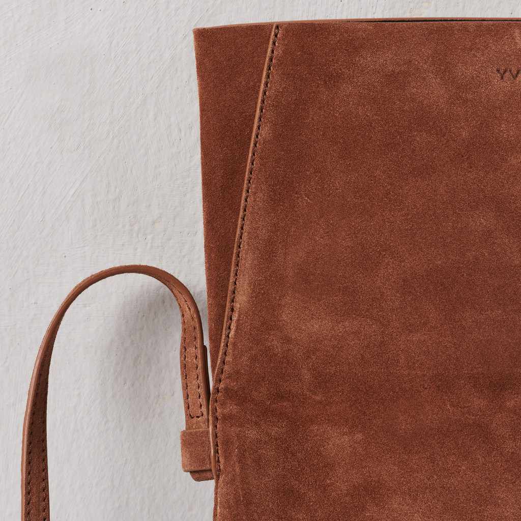 Terracotta Fold-over Bag