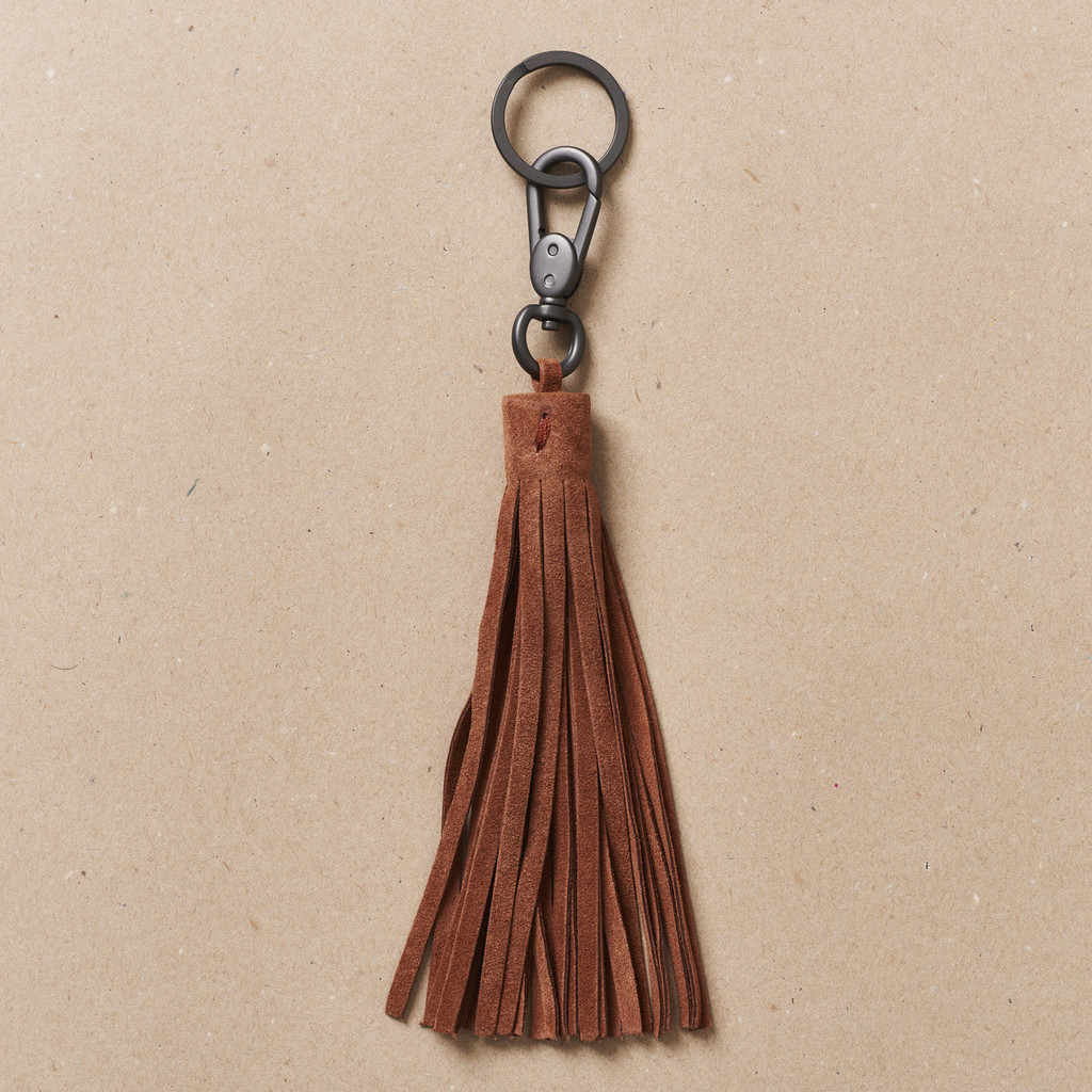 Terracotta Tassel Key Holder