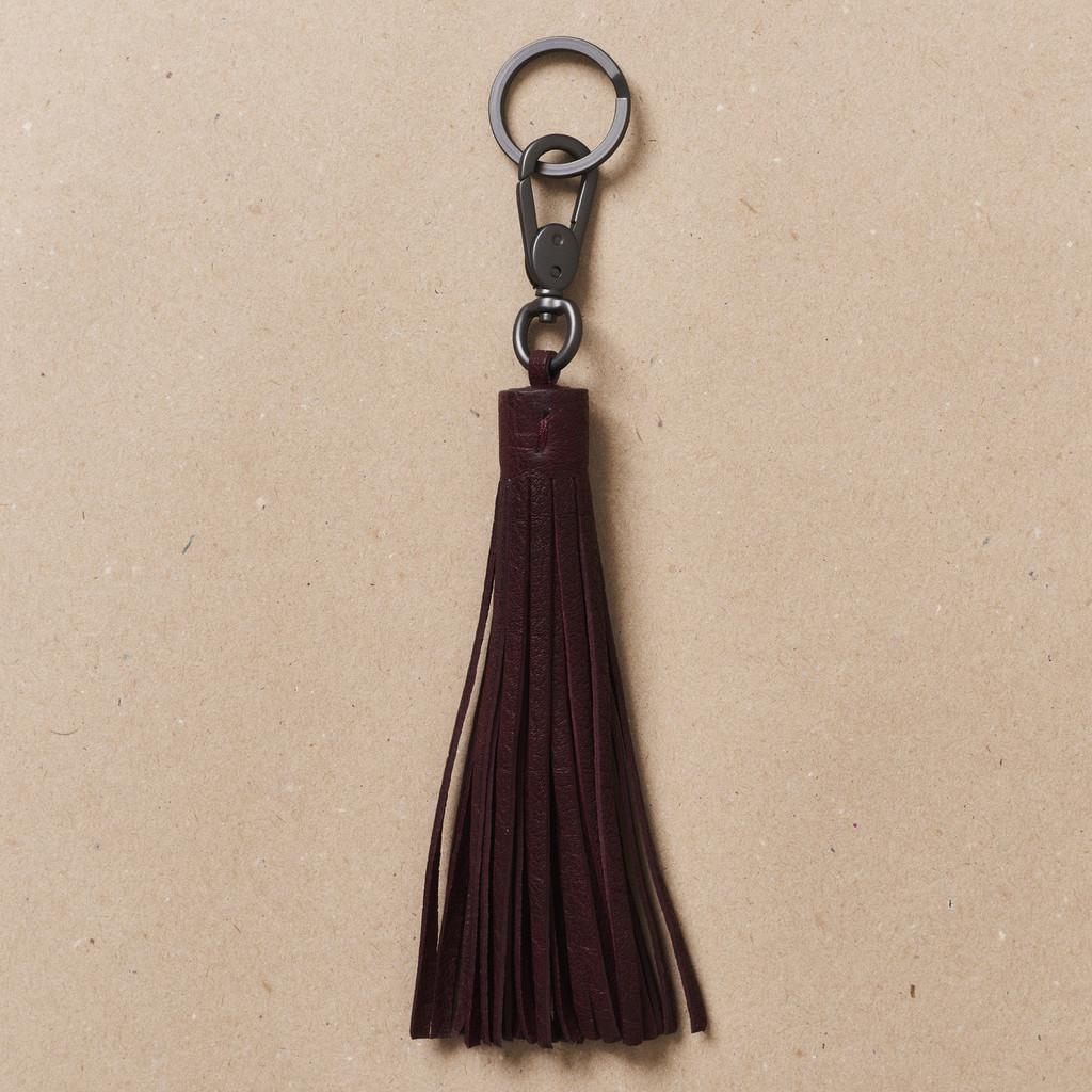 Sangria Tassel Key Holder