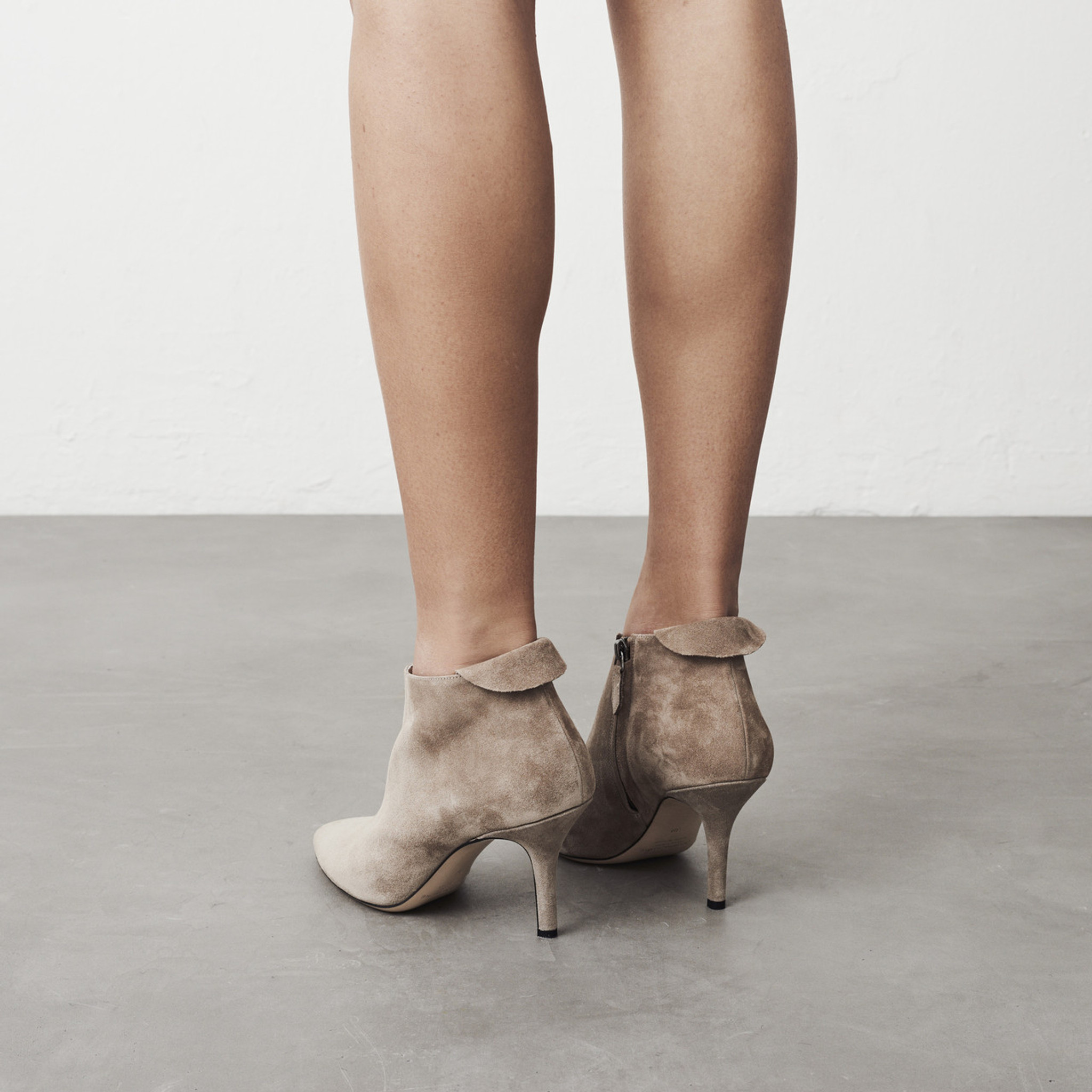 Cement Ankle Boot