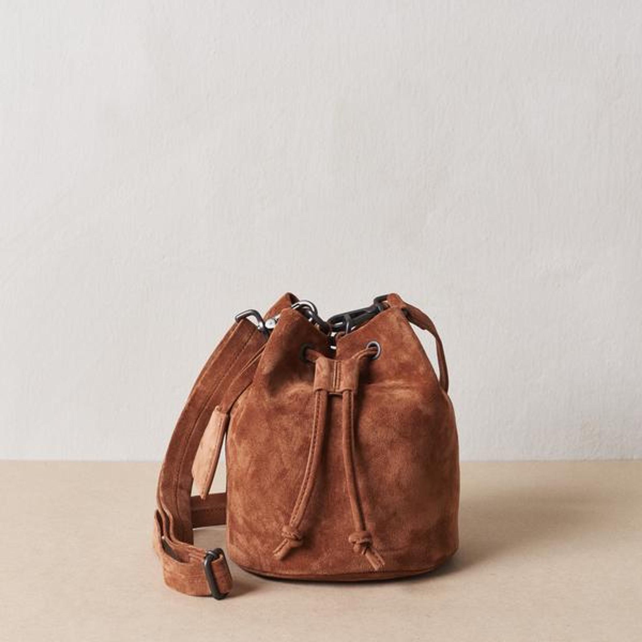 Terracotta Mini Bucket Bag