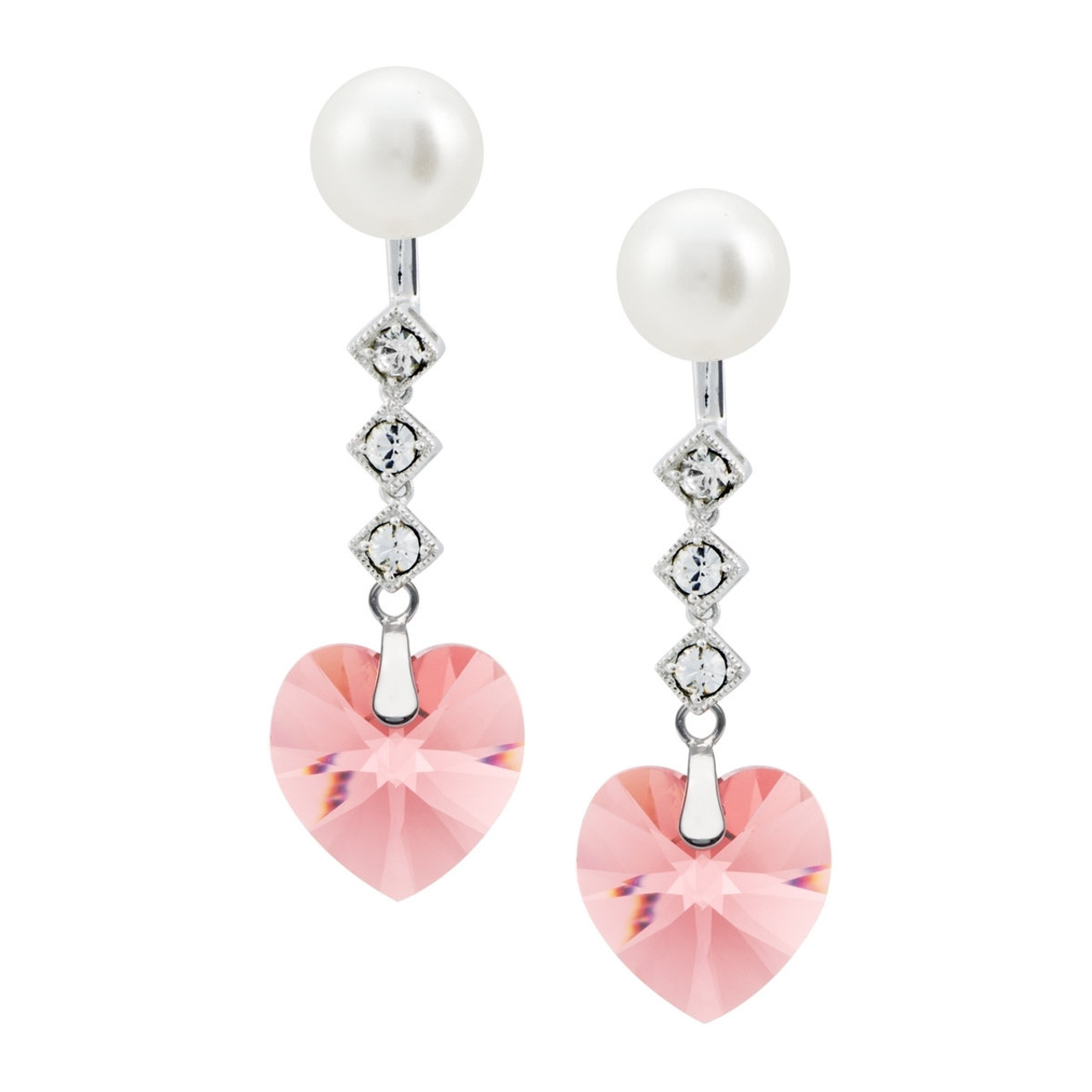 en heart estore pandora uk studs earrings plain