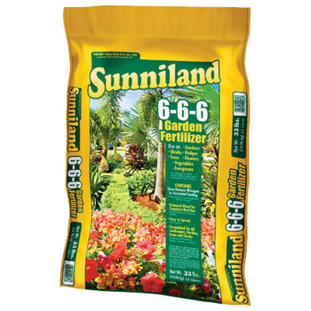 Garden Fertilizer 6-6-6 20 lb Bag