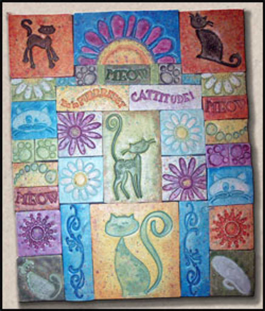 Sally's Mosaics Anyone? Tutorial