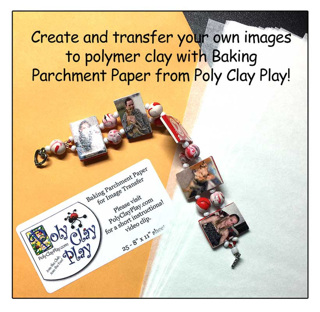 Baking Parchment Paper for Image Transfer