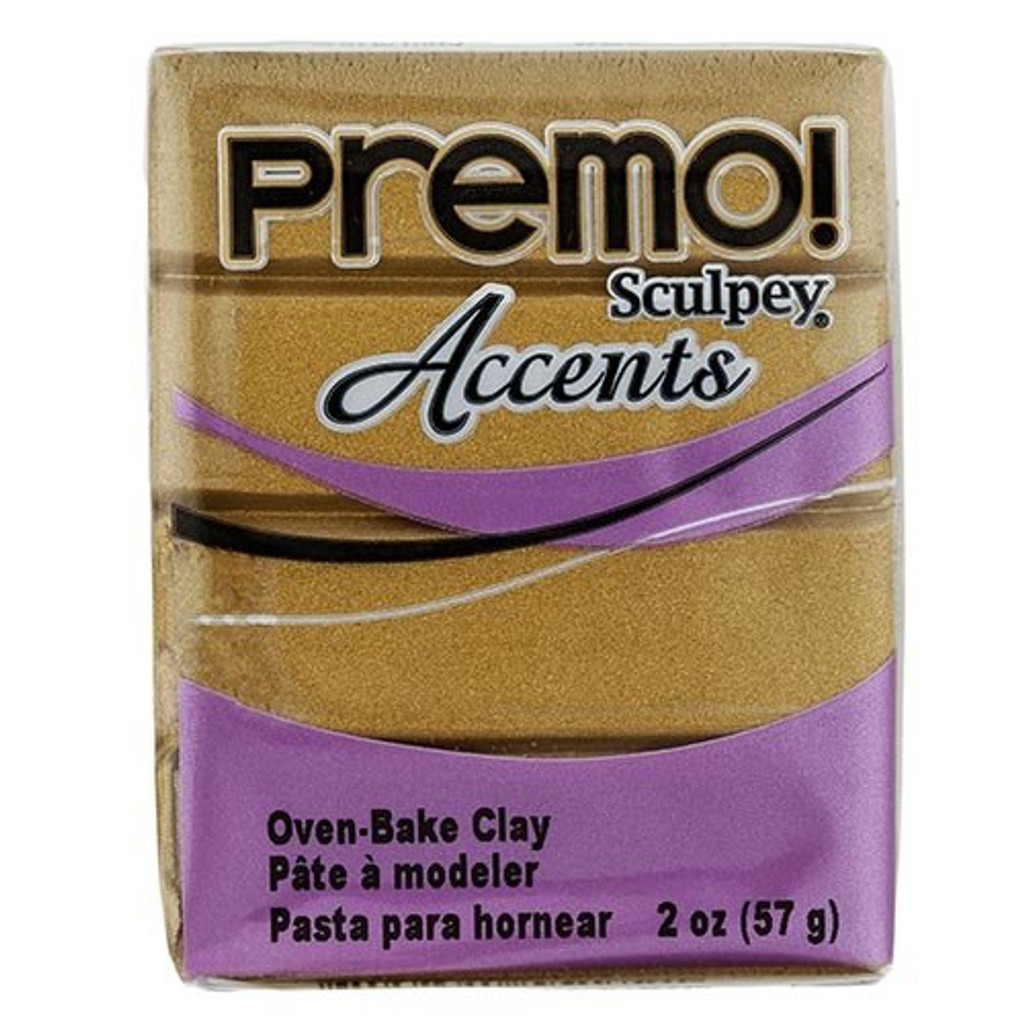 Premo! Sculpey® Accents - 18k Gold