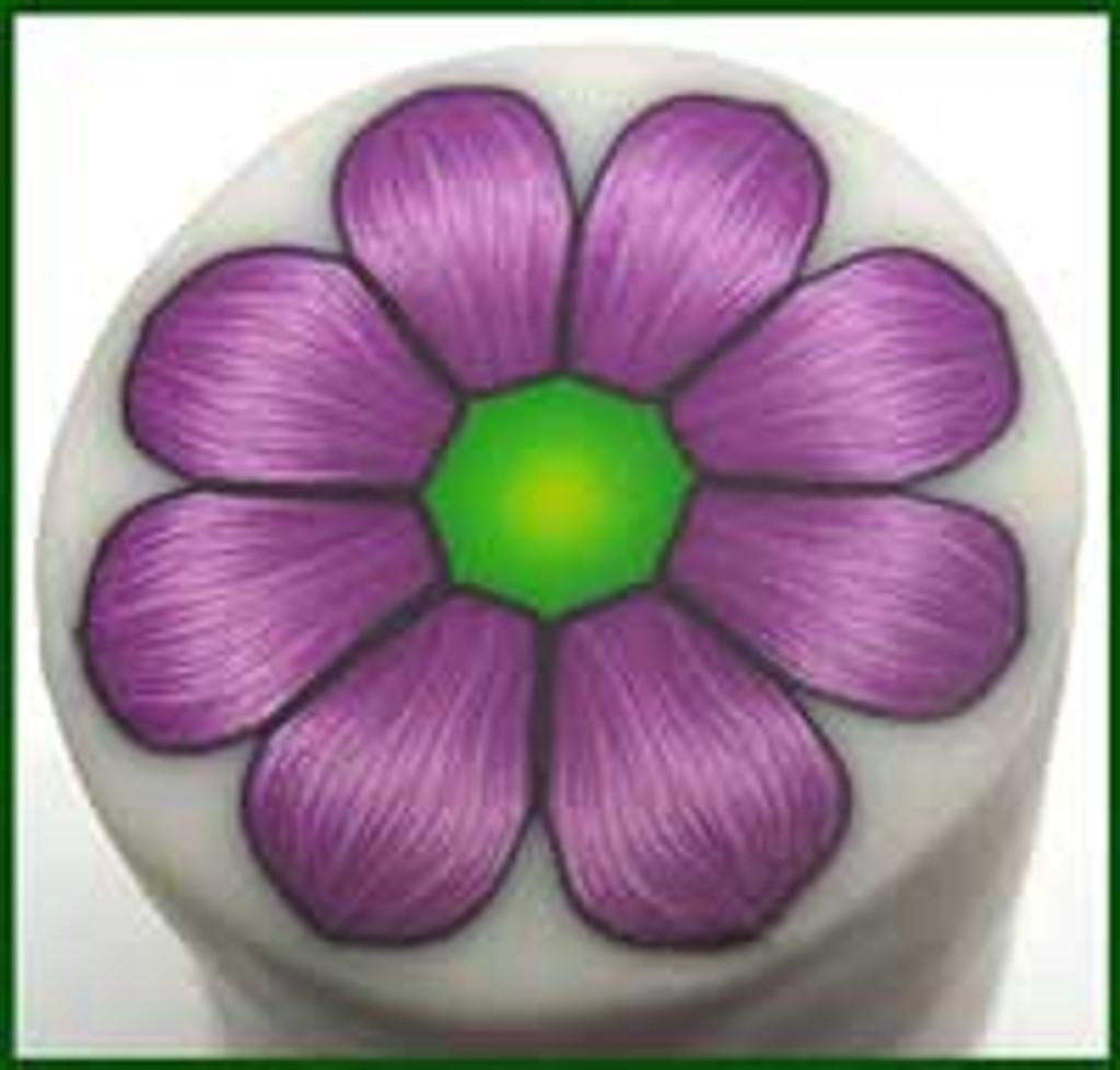 Yonat's Purple Flower Cane Tutorial