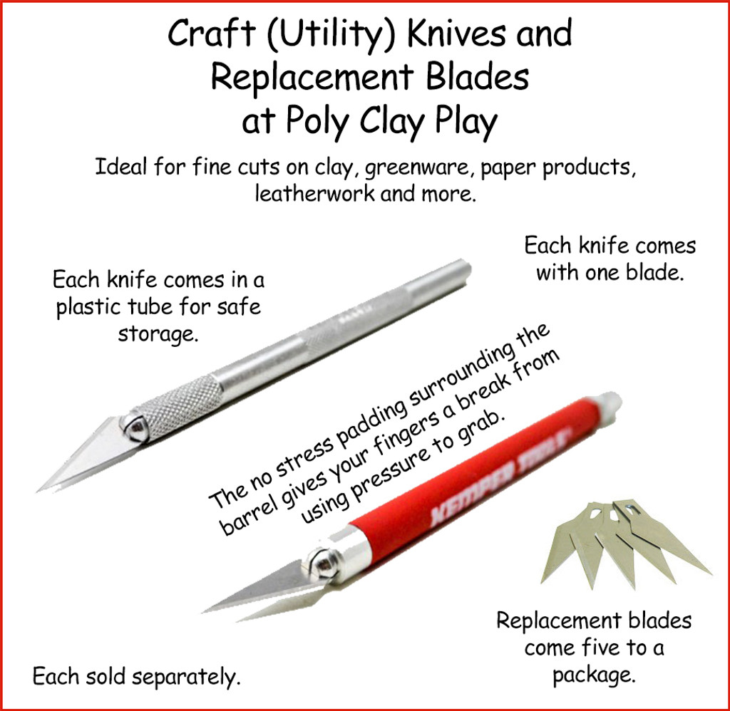 Craft Utility Knife and Replacement Blades