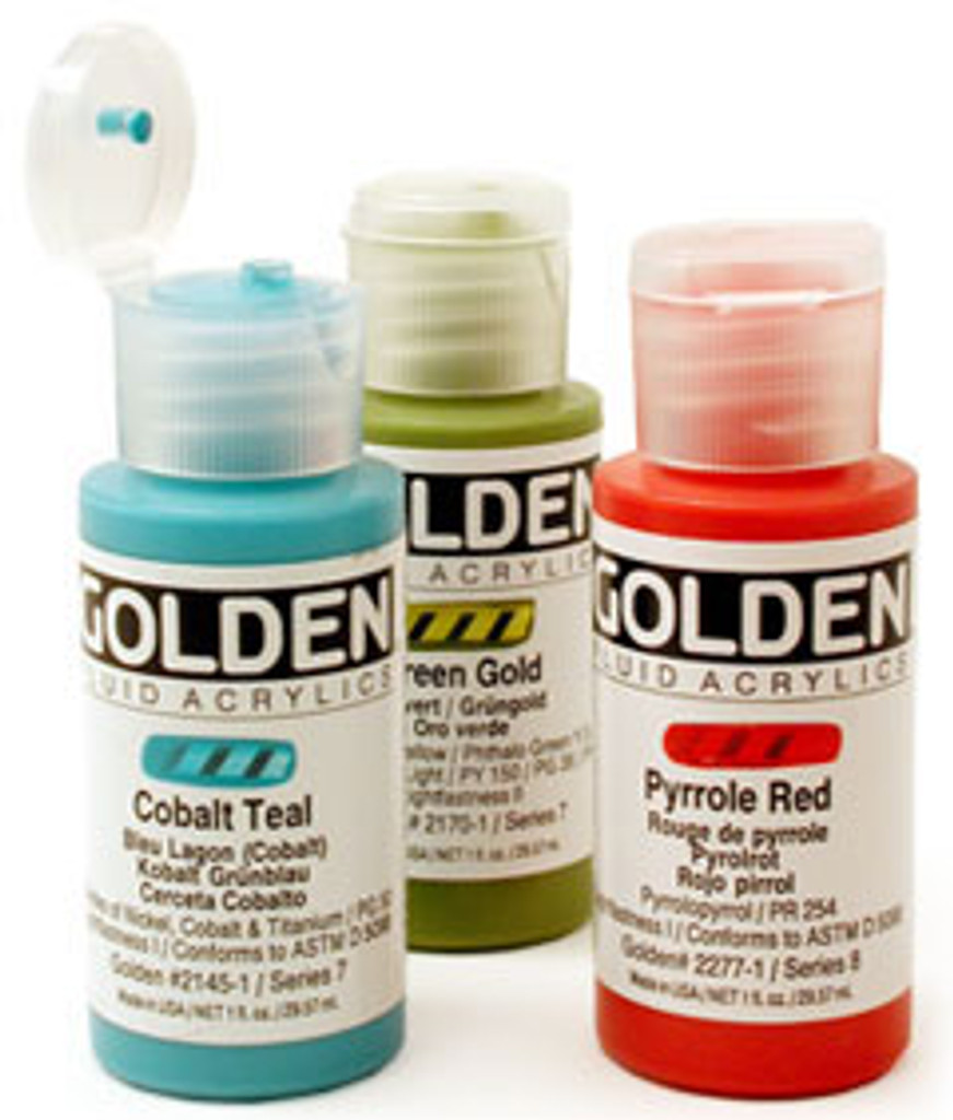 Golden Fluid Acrylic Paints