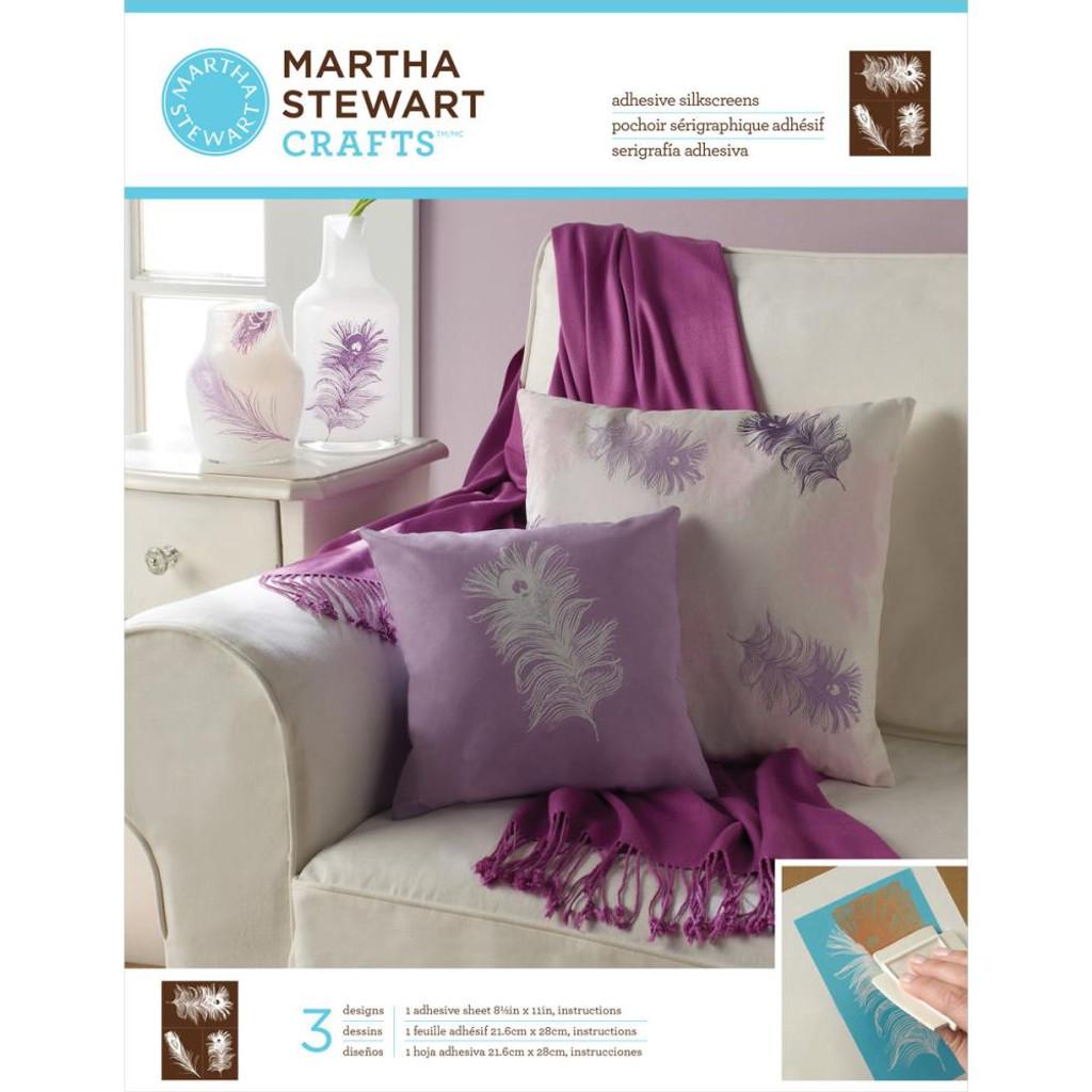 Martha Stewart Adhesive Silkscreens